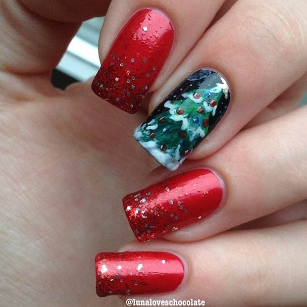 red-green-festive-design