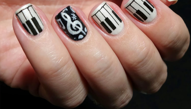50 stunning small symbols and pictures nail art designs you wish small symbols and pictures nail art designs 45 prinsesfo Images