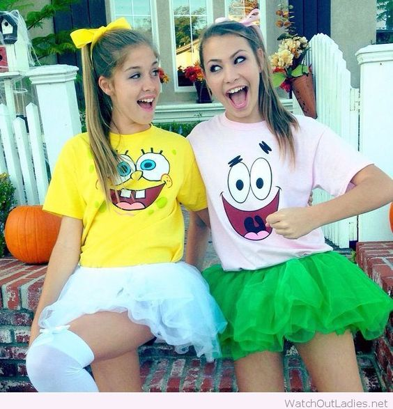 spongebob-and-patrick-costumes-for-halloween-party