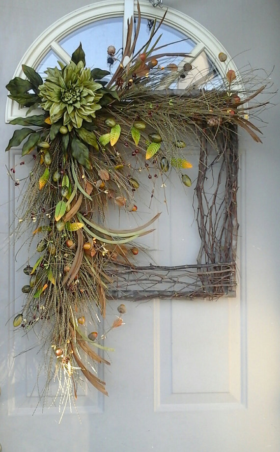 40 Easy Thanksgiving Front Door Decorations Ideas