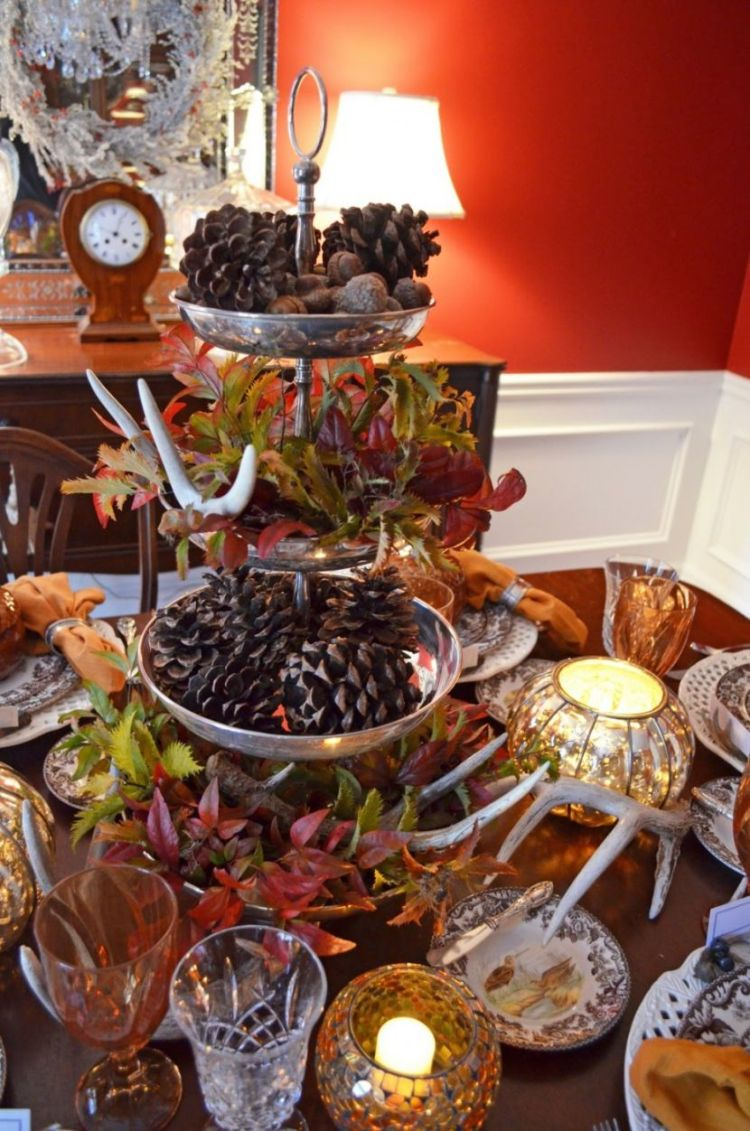 36 stunning thanksgiving centerpieces for holidays - Thanksgiving table decorating ideas ...