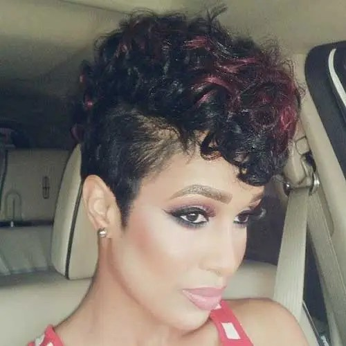 50 Cute Short Curly Hairstyles For Black Woman » EcstasyCoffee