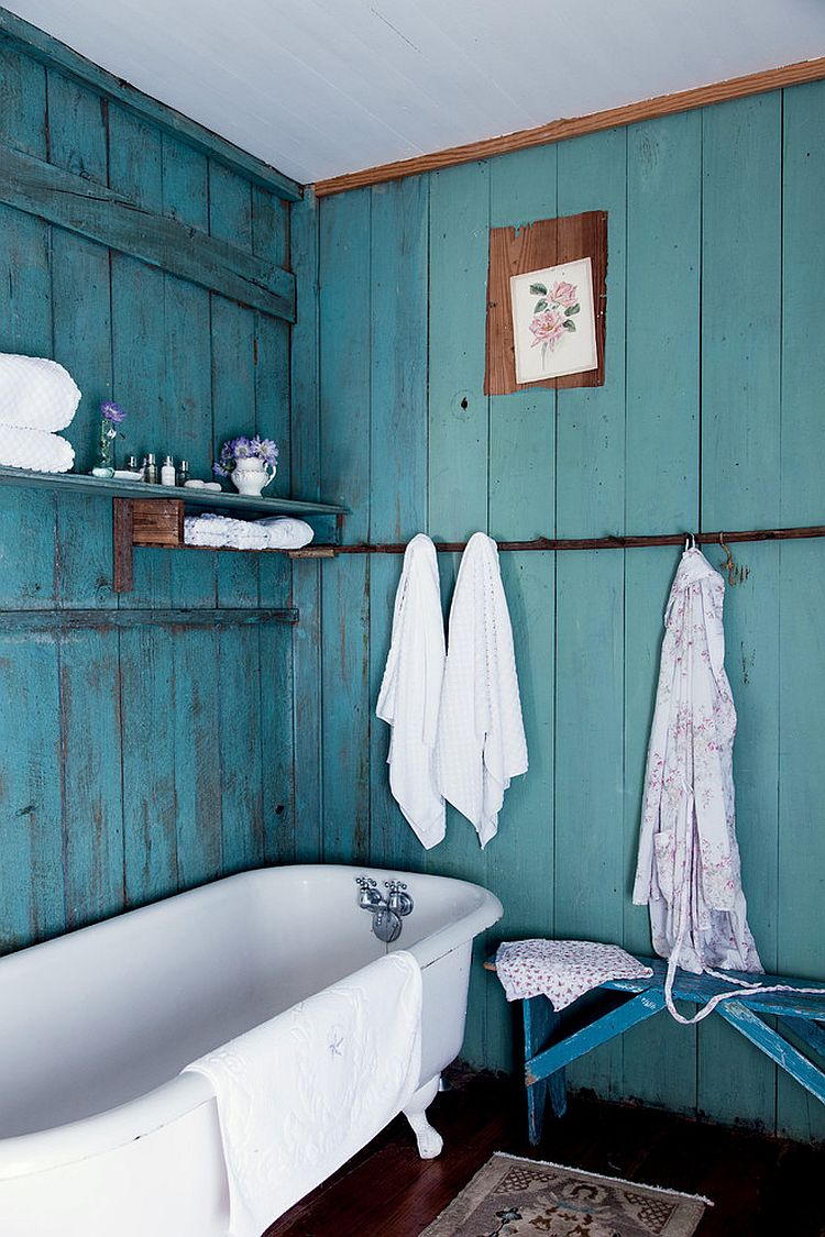 44 Lovely Shabby Chic Bathrooms Decorating Ideas » EcstasyCoffee