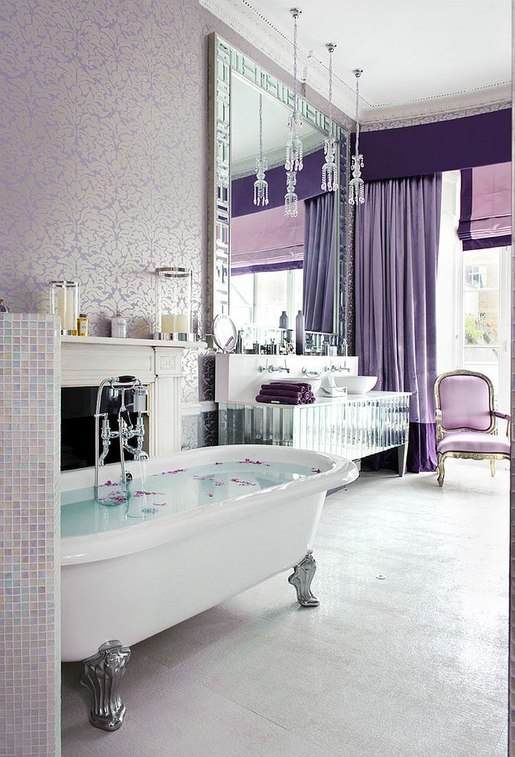 44 lovely shabby chic bathrooms decorating ideas - Ways to decorate bathroom ...