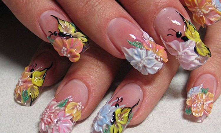 37 Awesome 3d Nail Art Designs And Ideas Youll Want In 2017