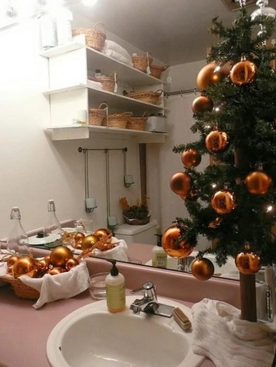 bathroom decorating ideas for christmas - Pictures Of Bathrooms Decorated For Christmas
