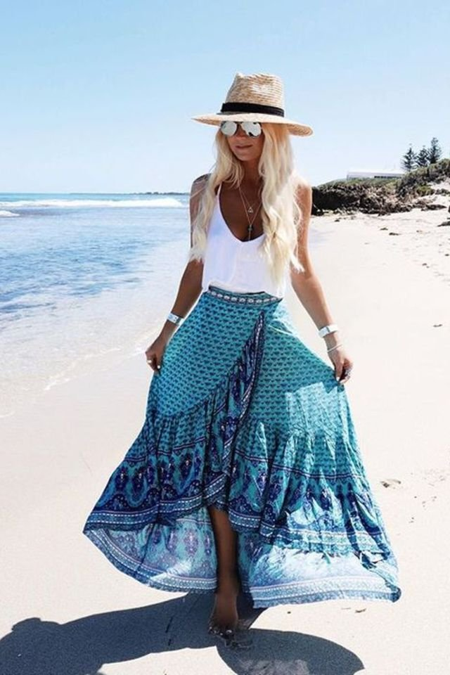 55 Cool Boho Chic Outfit Ideas To Wear This Year 187 Ecstasycoffee