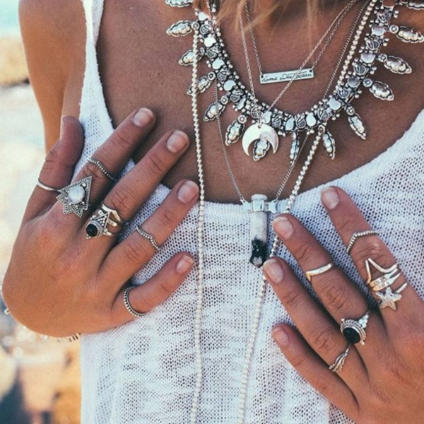 60 Unique Boho Jewelry Ideas For Pretty Women Ecstasycoffee