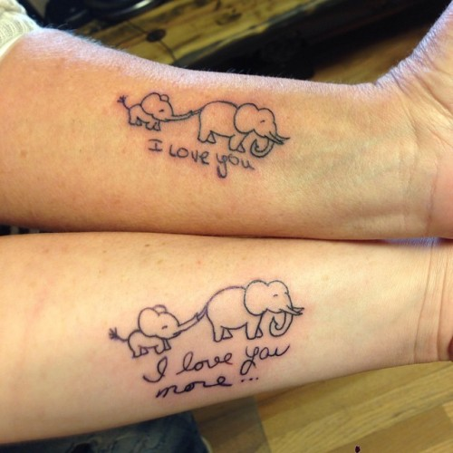 55 Awesome Mother Daughter Tattoo Design Ideas