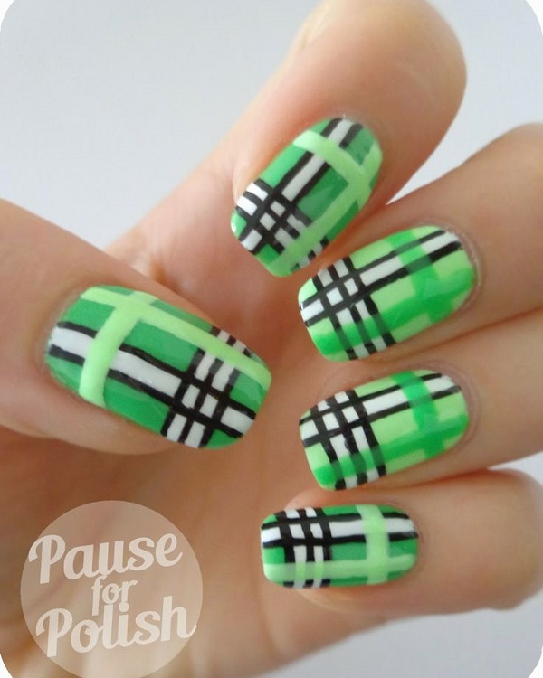 50 Beautiful And Unique Green Nail Art Designs Ideas Ecstasycoffee