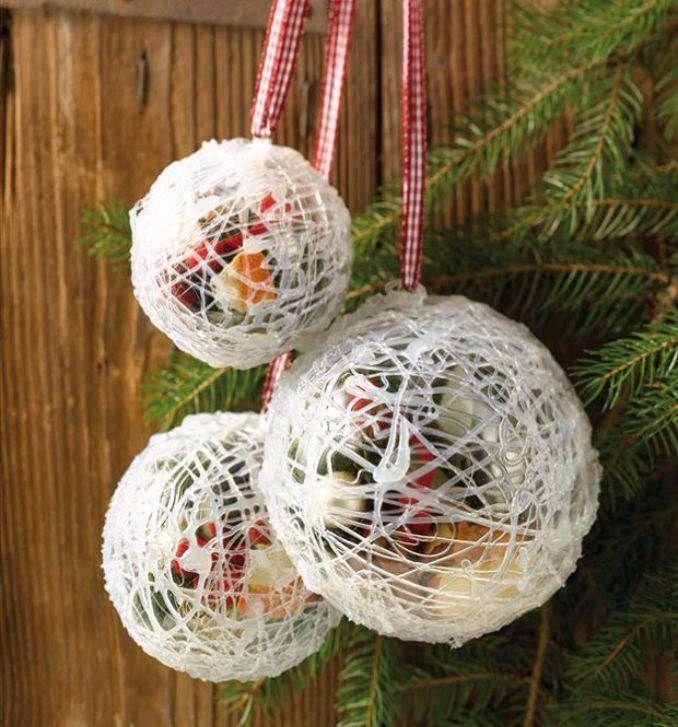 ... homemade-christmas-ornaments2 ... & 60 Easy and Beautiful Homemade Christmas Ornament Ideas