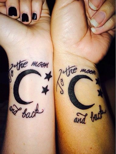 1ecf89275 55 Awesome Mother Daughter Tattoo Design Ideas » EcstasyCoffee