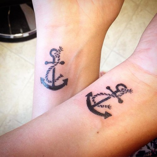 Cool Mother Daughter Tattoos: 55 Awesome Mother Daughter Tattoo Design Ideas » EcstasyCoffee