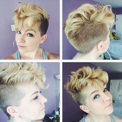 messy-short-hairstyle