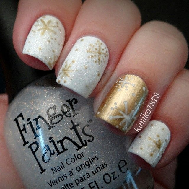 45 gorgeous nail art design for new years eve ecstasycoffee nail art design new year eve 1 prinsesfo Gallery