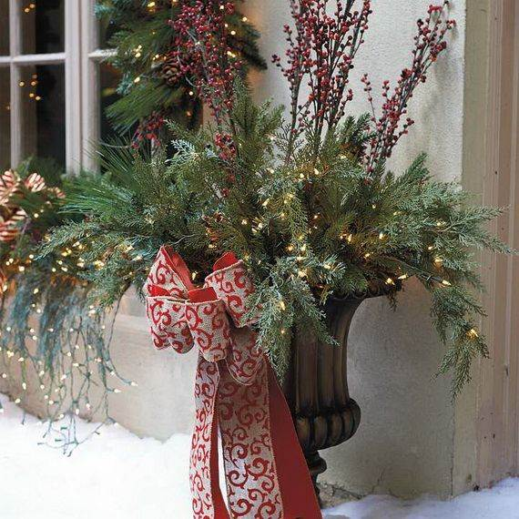 Amazing Outdoor Christmas Decorations Ideas - Christmas decoration outdoor ideas