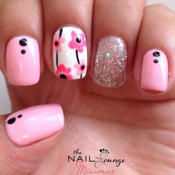 Flower Nail Art Design Photos Hession Hairdressing