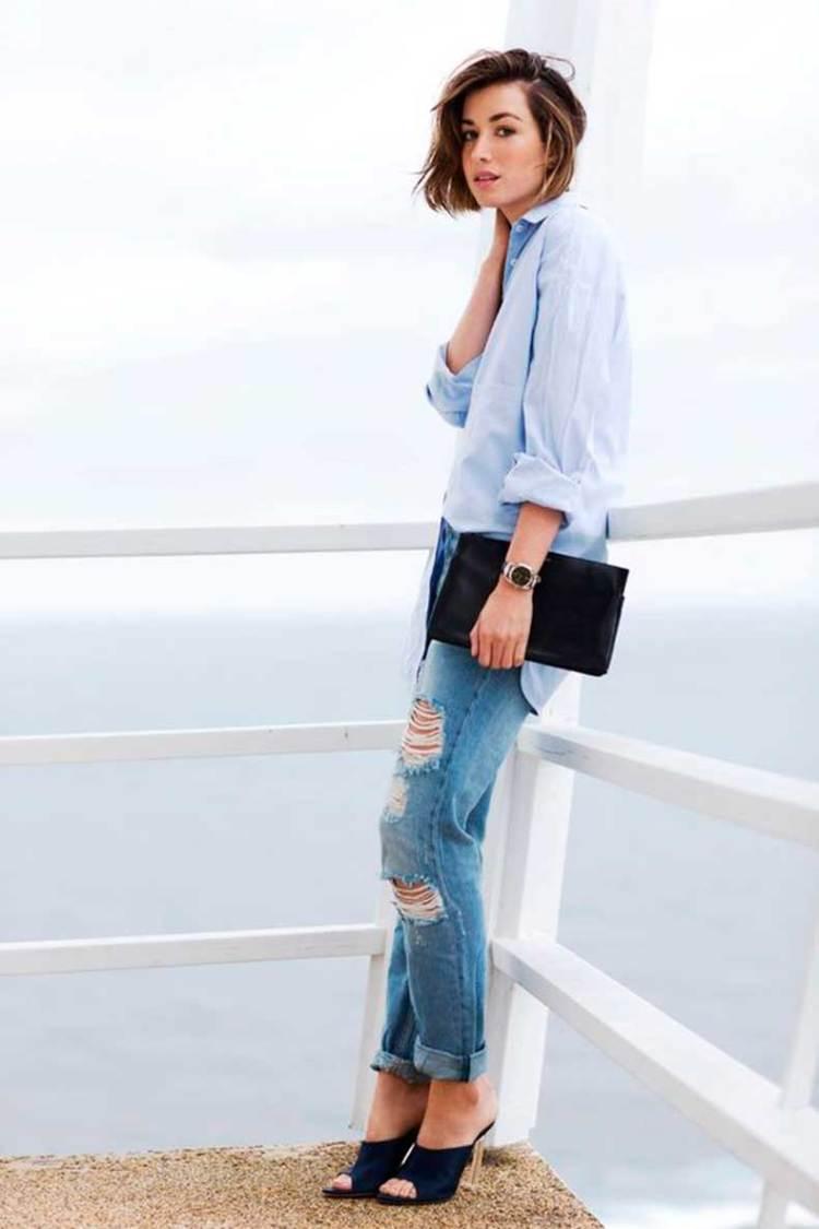 Denim Shirt Dress Outfit Ideas Bcd Tofu House