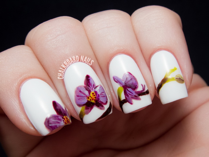 26 new years eve nail art designs ideas ecstasycoffee cute flower nail designs prinsesfo Images