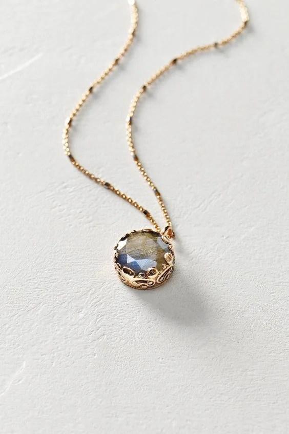 17 unique necklace design ideas for women ecstasycoffee labradorite pendant necklace audiocablefo