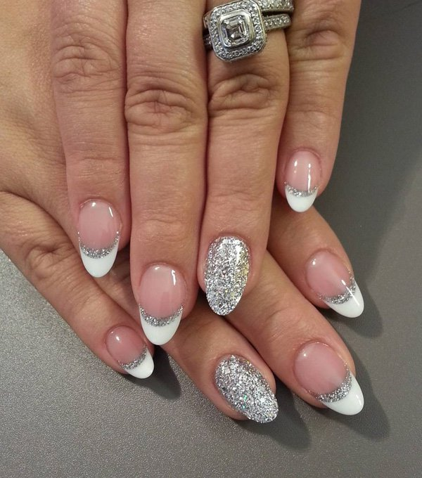 oval-nails-designs-ideas12 ... - 37 Beautiful Oval Nail Art Ideas » Page 2 Of 4 » EcstasyCoffee