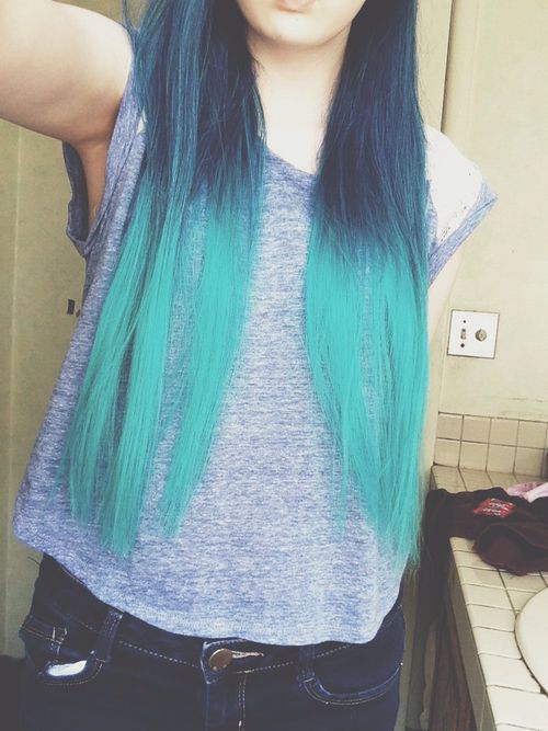 50 Awesome Blue Ombre Hair Color Ideas You Ll Love To Try