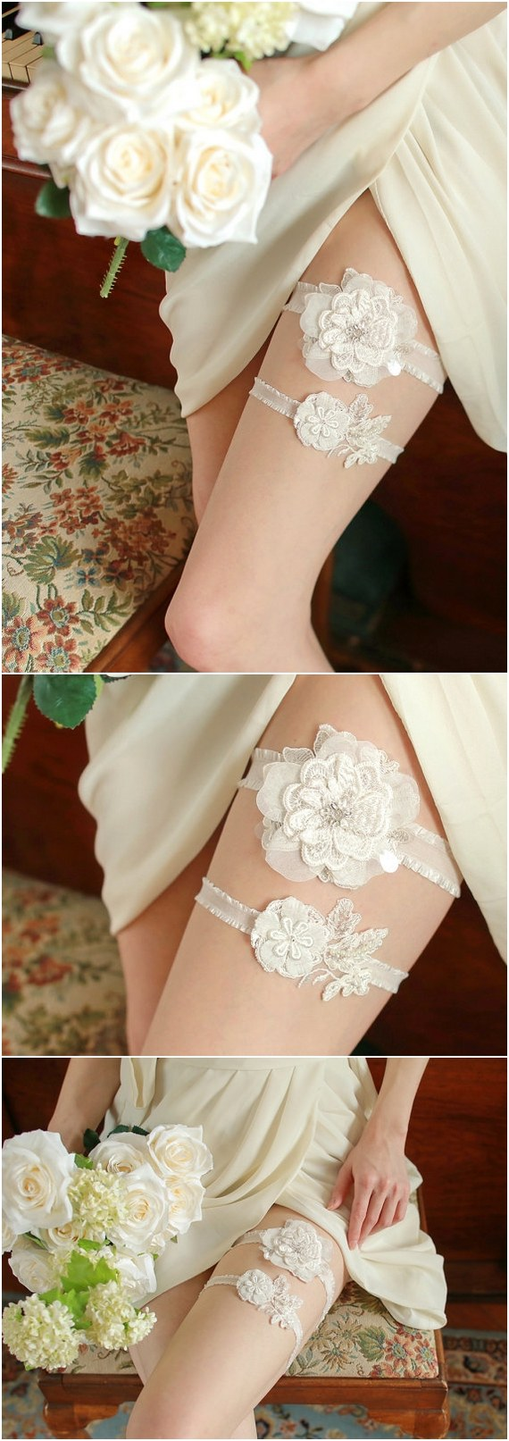 40+ chic and romantic wedding garters you will love - ecstasycoffee