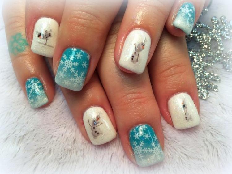 50+ Latest Winter Inspired Nail Art Ideas » EcstasyCoffee