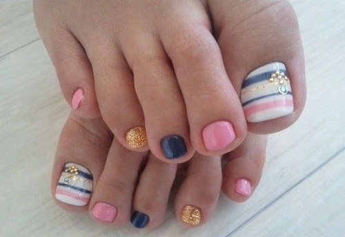 The Hottest Ideas Nail Design For Your Feet. Even At Home, You Can Make The  Unusual And Trendy Pedicure, Which Will Be A Perfect Completion Of Your  Image.