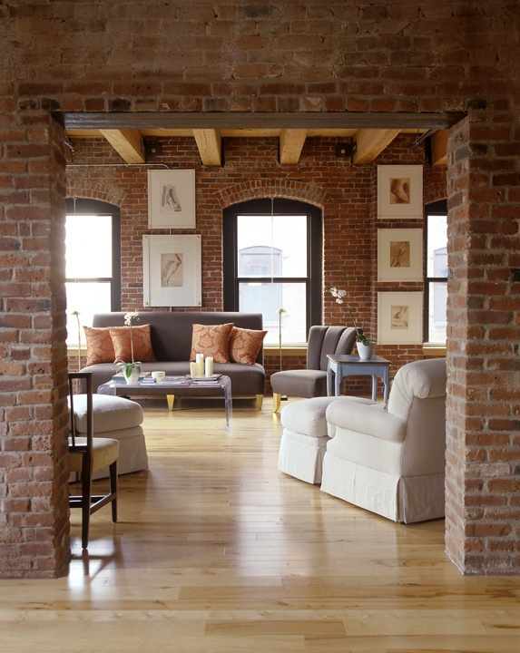 30 cool brick walls ideas for living room ecstasycoffee - Family room wall ideas ...