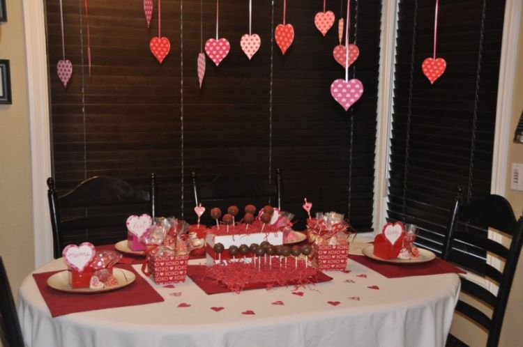 Cool and beautiful valentine s day table decorations