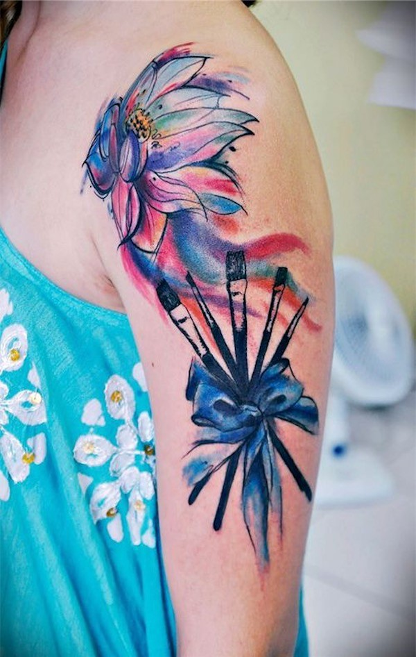 Flower Tattoos Designs Ideas And Meaning: 50 Gorgeous Flower Tattoo Designs For Women You Must See