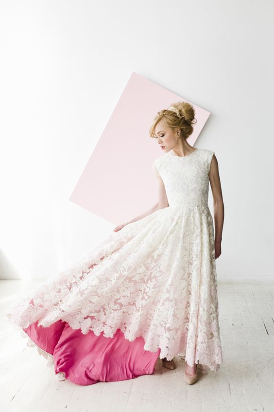 38 Gorgeous Non White Wedding Dresses Ideas For Unique
