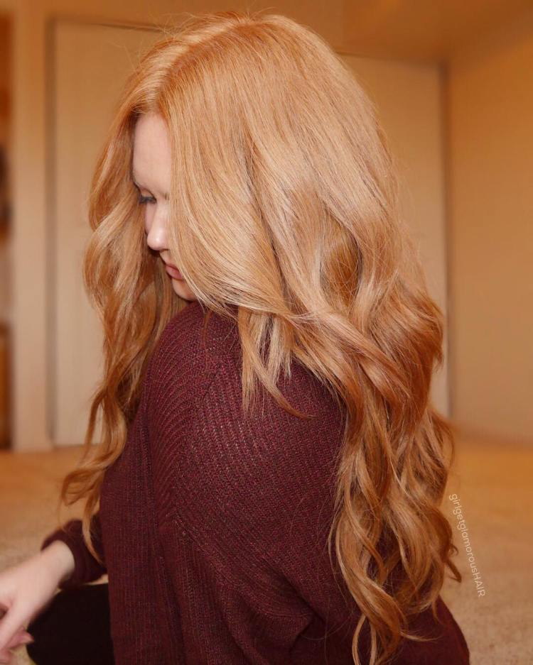 25 Most Beautiful Strawberry Blonde Hair Color Ideas