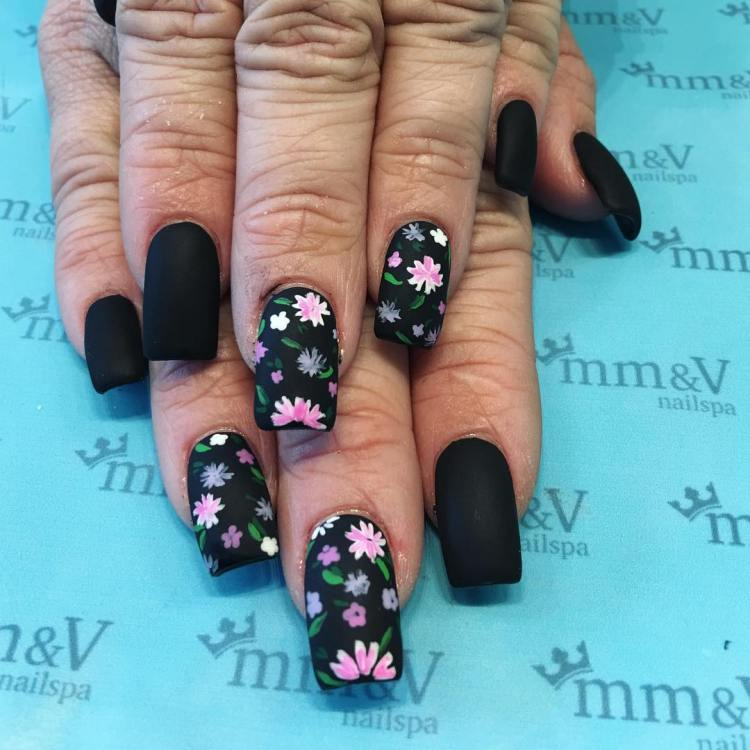 35 stylish matte nail polish trends this year nailart nailstagram lasvegasnailsalon hendersonnailsalon mimivynailspa mattenailart flowersnailart instadaily prinsesfo Image collections