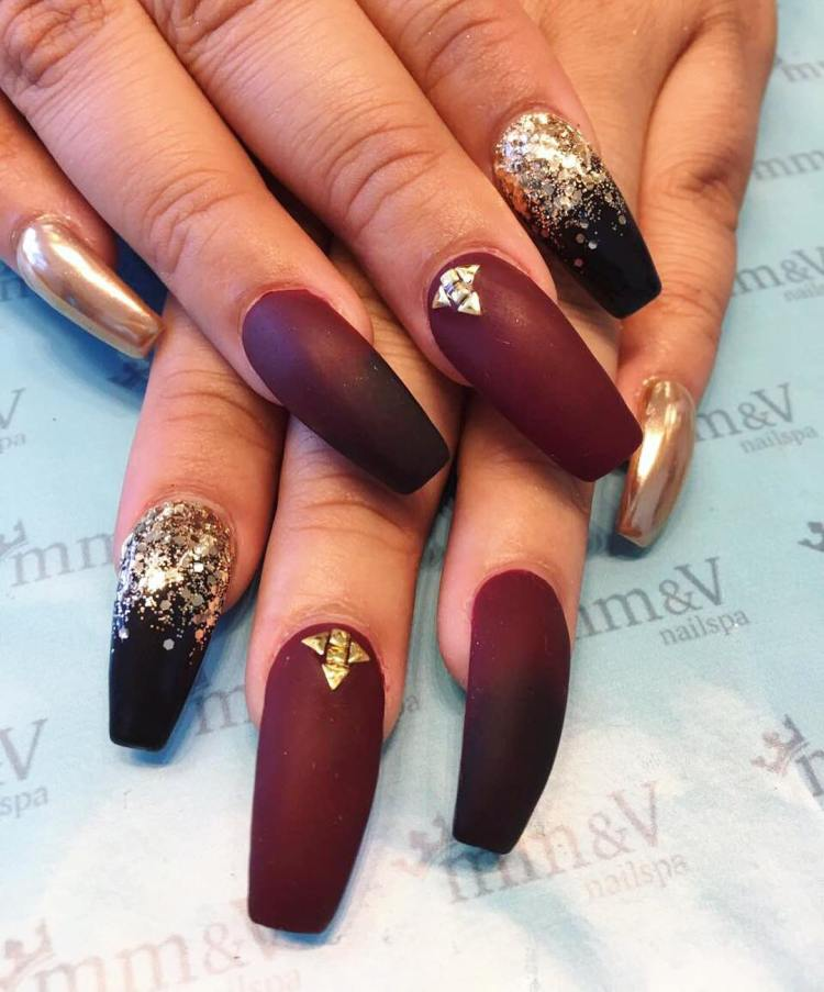Matte nail art image collections nail art and nail design ideas 35 stylish matte nail polish trends this year pronailstagram pronailstylist nailsdesign nailart prinsesfo image collections prinsesfo Images