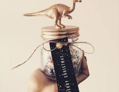 #Dinosaur #ChristmasJars