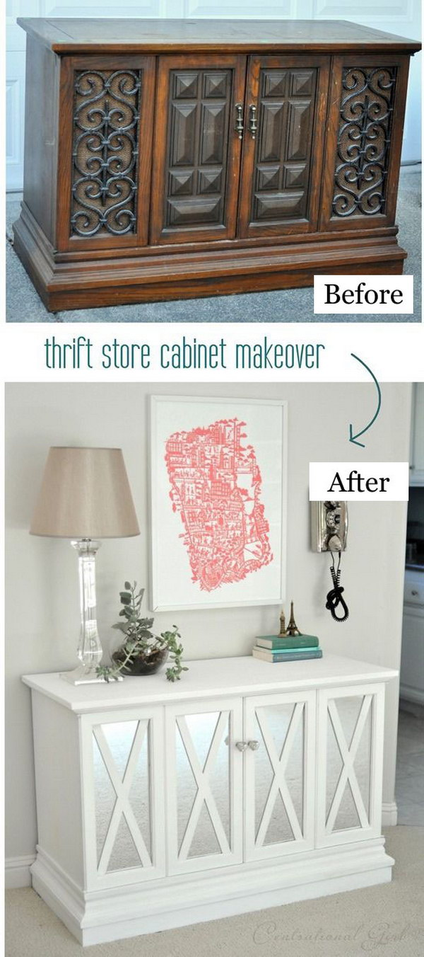 53 Best Diy Ideas To Repurpose Old Furniture For Your Home Decor