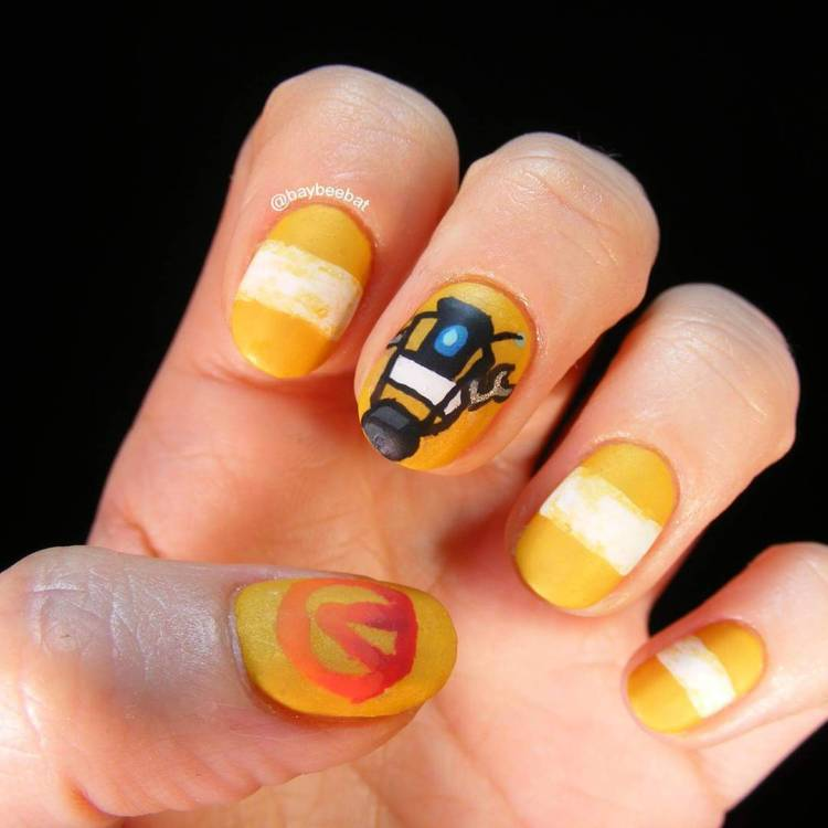 Art Designs: 88 Stunning Yellow Nail Art Designs Just For You