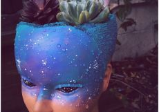 #weirdos #succulents #mannequinhead #diygardening #scalped #spaceface