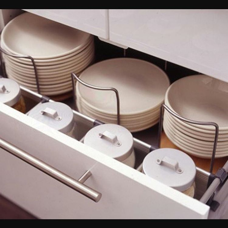 35 Conserve Space With Kitchen Drawers And Shelves