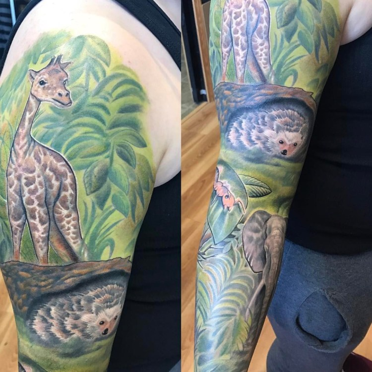 40 best giraffe tattoo ideas collection at display