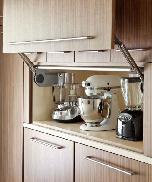 35 Variety of Appliances Storage Ideas for Your Kitchen That Fit ...