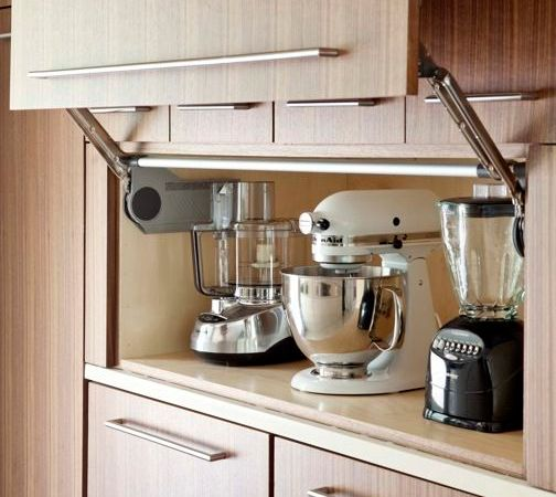 Kitchen Appliance Storage