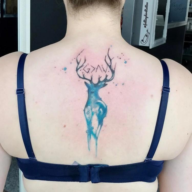 Deer Women Tattoo Ideas And Deer Women Tattoo Designs: 50 Beautiful Deer Tattoo Ideas To Ink Yourself In