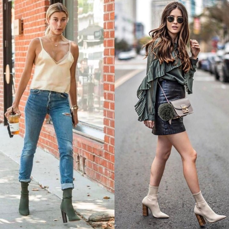 45 gorgeous sock boots for the perfectly elegant look