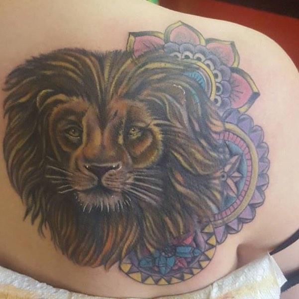 50 Mandala Tattoo Designs: 50 Powerful Lion Tattoo Ideas To Enhance Your Personality