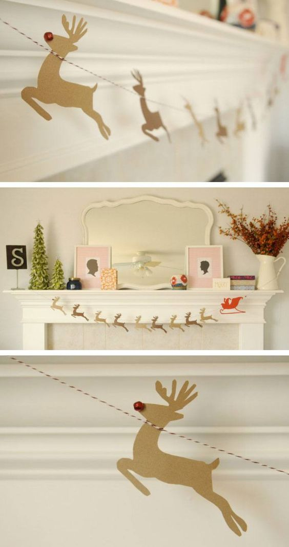 30+ Gorgeous DIY Christmas Garland Decorating Ideas For ...