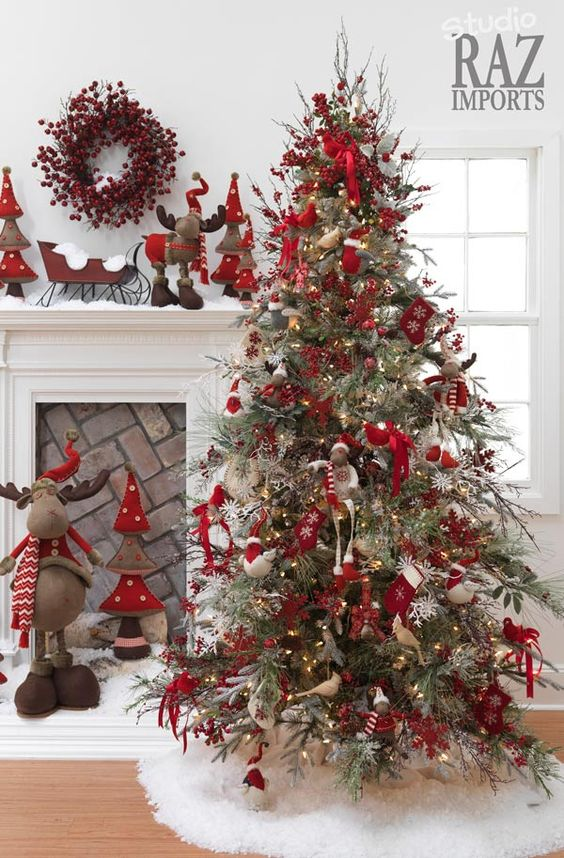 Christmas tree is the most important Christmas decorations