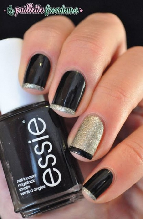 45 Awesome French Nail Art Designs » EcstasyCoffee